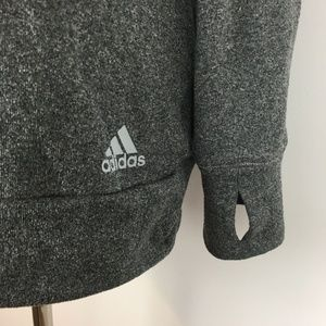 Adidas Sweaters - Adidas Women's Gray Scoopneck Pullover Sweater